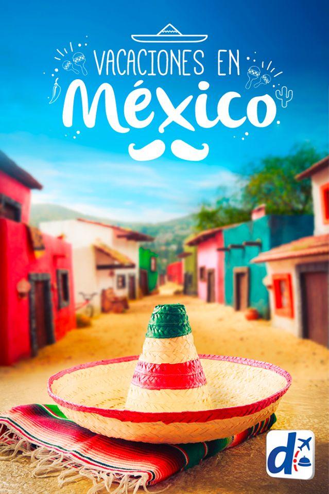 Lleno de colores, sabores, música, historia, pueblos mágicos, playas de ensueño y paisajes maravillosos, #México siempre es una buena opción para pasar las vacaciones  ¡Viva México!