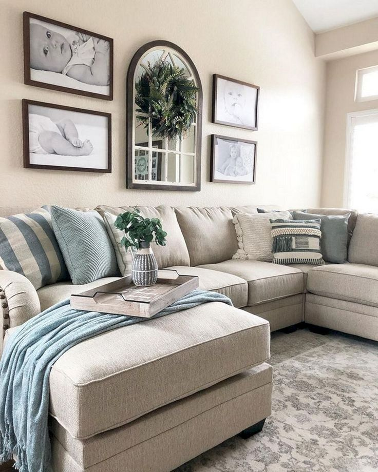 Best 10+ Attractive Farmhouse Living Room Design And Decoration Ideas