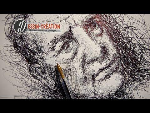 Technique pour dessiner au stylo librement