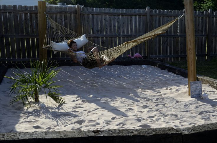 23 best images about backyard beach on pinterest for Nautical themed backyard