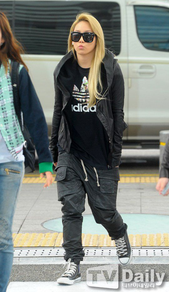 CL wardrobe choices are amazing! i really wanna know where those pants come from