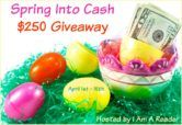 $250 Cash or Amazon Gift Code Giveaway  Open to: United States Canada Other Location Ending on: 04/15/2017 Enter for a chance to win $250 in Paypal Cash or a $250 Amazon Gift Card. Enter this Giveaway at I Am A Reader  Enter the $250 Cash or Amazon Gift Code Giveaway on Giveaway Promote.