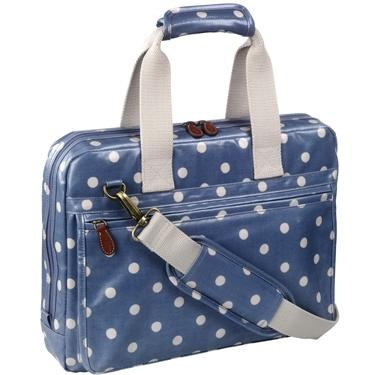 Spot Oilcloth Laptop Case.