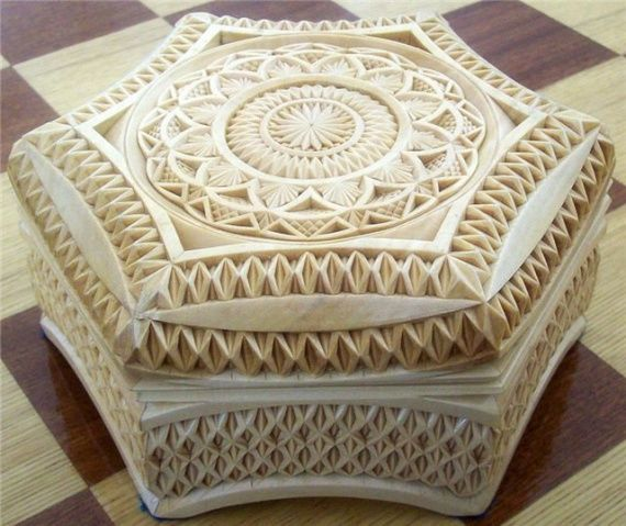 Best Wood Chip Carving : Chip carving wood decorative boxes waiata chips work