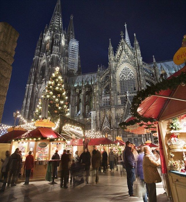 From Glühwein to Weinerschnitzel: 18 of the World's Best Christmas Markets via Brit + Co.