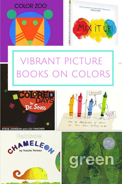 8 vibrant and unique picture books about colors - Preschool Books About Colors