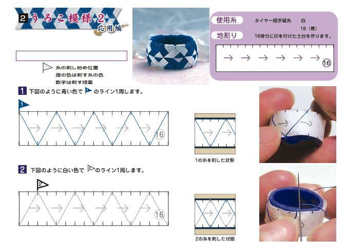 Yubinuki pattern B, part 1 of 2