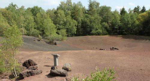 Puy de la vache - Clermont-Ferrand Une balade sur Mars... mais en Auvergne