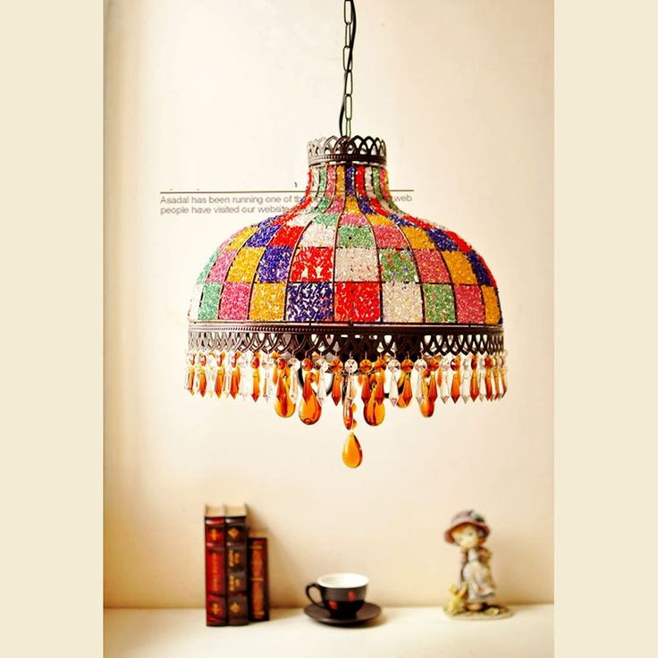 (233.99$)  Watch now  - Mediterranean Pendant lights Bohemian suspension lamp included E27 bulbs Ceiling Drop Light residential Lighting free shipping