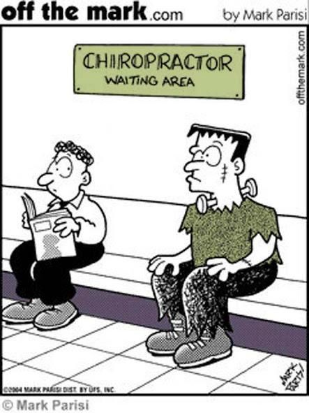 *8 Reasons NOT to visit a Chiropractor* _*Dr. Sal Pilato   Chiropractor West Palm Beach, FL*_  If you're looking for reasons not to visit a chiropractor, here are eight of them!  1.) You don't have a spine. If you're born without a spine, there's really no need to worry about spinal degeneration, is there?  2.) If you can't see it, it must be fine. Skin, eyes, hair, teeth… These front-facing body parts are important because other people can see them. If a healthy