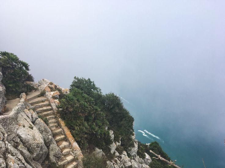 Mediterranean Steps, The Rock of Gibraltar, Gibraltar, UK