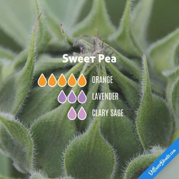 Sweet Pea - Essential Oil Diffuser Blend