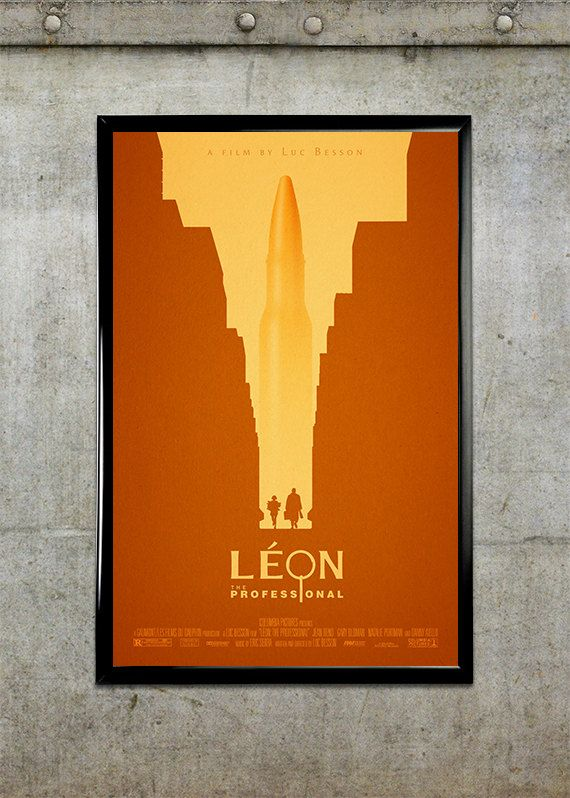 Leon: The Professional Movie Poster $20
