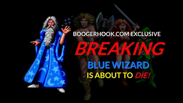 blue wizard is about to die blue wizard pinterest