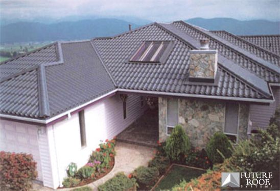 25 best ideas about spanish tile roof on pinterest for Spanish style roof shingles
