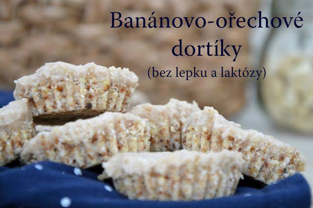 TynaTyna: Banánovo-ořechové dortíky (bez lepku a laktózy)