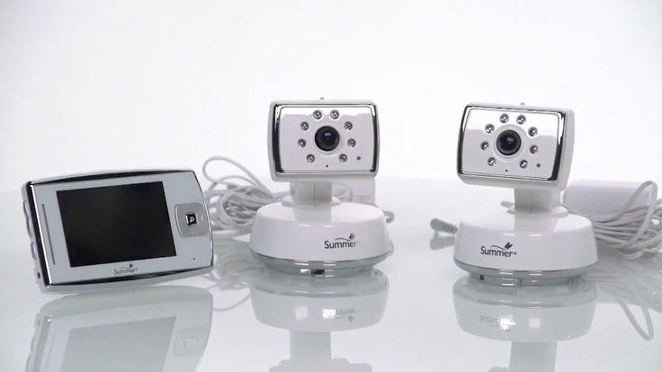 Babá Eletrônica 2 Câmeras Visão Noturna, Microfone e Alto-falante - Summ...