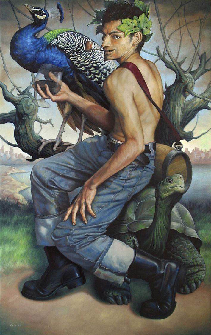 Fran Recacha - Mythological: Dionysus, 2010