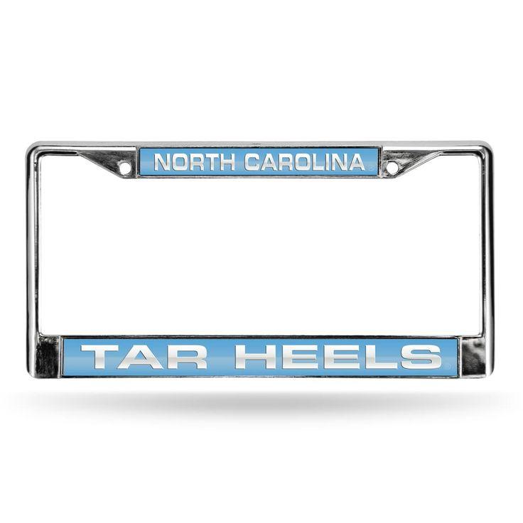 North Carolina Tar Heels License Plate Frame, Blue