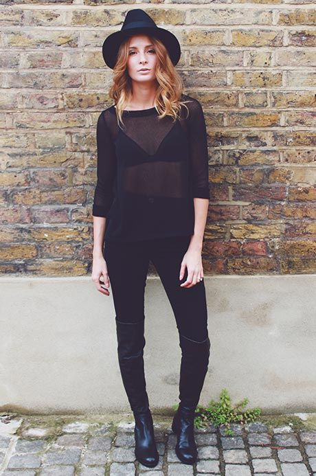 Millie Mackintosh wearing our Amelie superskinny jeans. Shop now instore and online at riverisland.com #riverisland #RIdenim