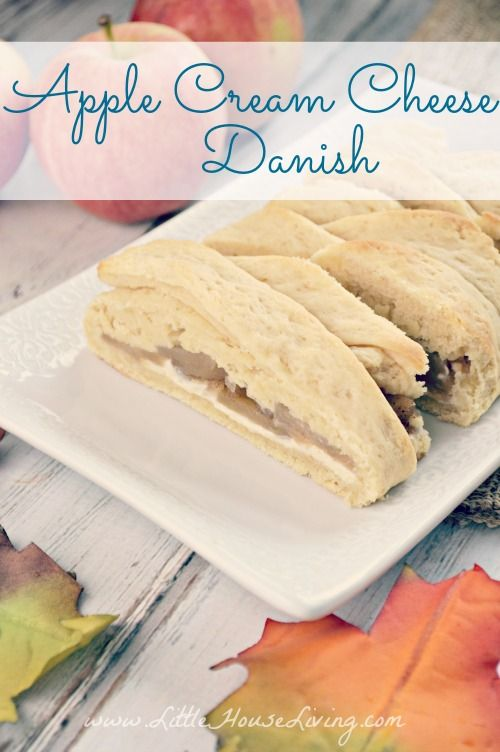 Apple Danish Braid Recipe made from scratch and perfect for fall apples!