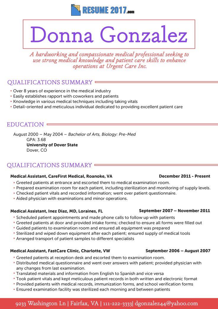 Resume 2018 Samples USA (resumesamplesusa) on Pinterest