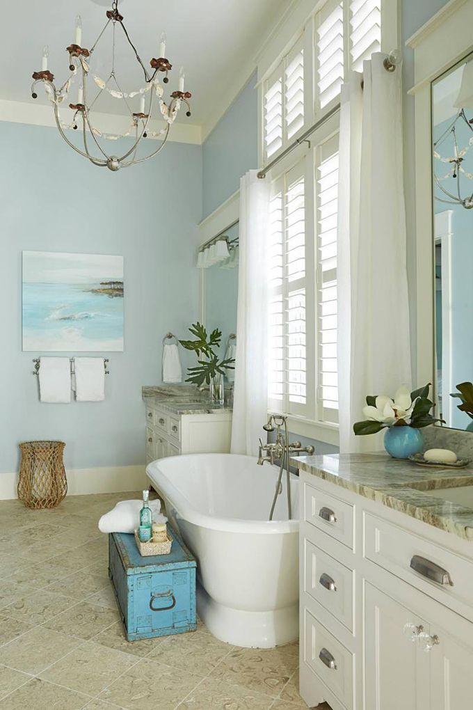 25+ best Coastal bathrooms ideas on Pinterest Coastal inspired - coastal home decor