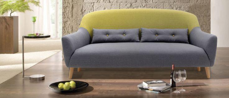 Οι καμπύλες του και η άνεση αυτού του διθέσιου καναπέ θα σας σαγηνεύσουν... #epiplaki #sofa #καναπες