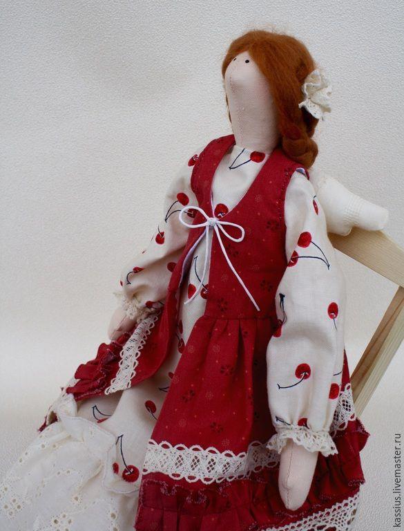 Купить Ангел путешествия (Интерьерная кукла ангел тильда) - разноцветный, кукла ручной работы