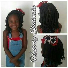 Box braids for little girls