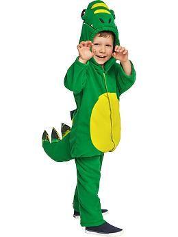 old navy green dragon dinosaur t rex boys toddler halloween costume size 6 12 mo - Dragon Toddler Halloween Costume
