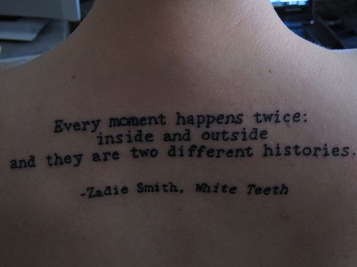 white teeth by zadie smith essay In her novel, white teeth, zadie smith argues against fate and the appearance of randomness that the concept of predestination brings along with ither counter-argument is the idea of self-determination and its consequences.