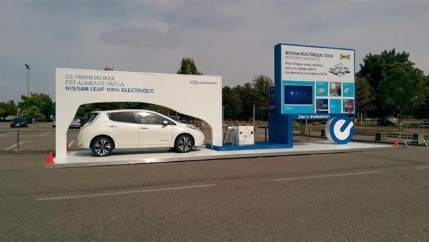 Nissan Electric Tour : la voiture électrique à portée de chariot
