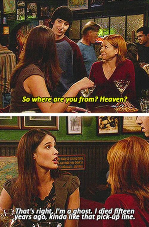 Bad Pickup Lines. Oh HIMYM