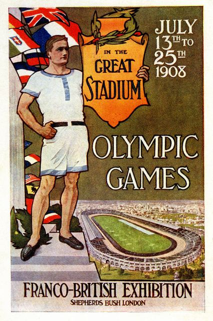 Olympic Games  Franco-British Exhibition 1908 London Olympics