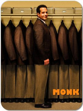 MONK is so awesome! All of his clothes are the same.
