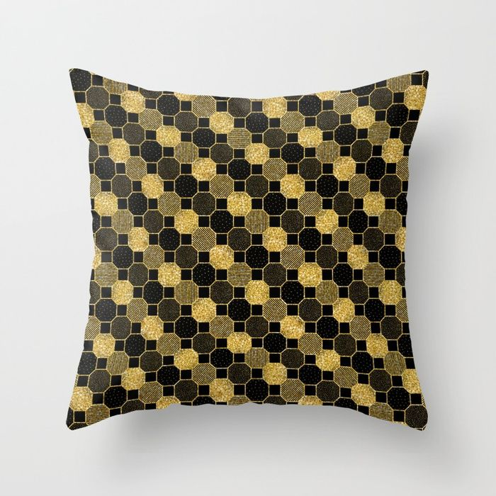 Black And Gold Accent Pillows Black And Gold Couch Pillows Black