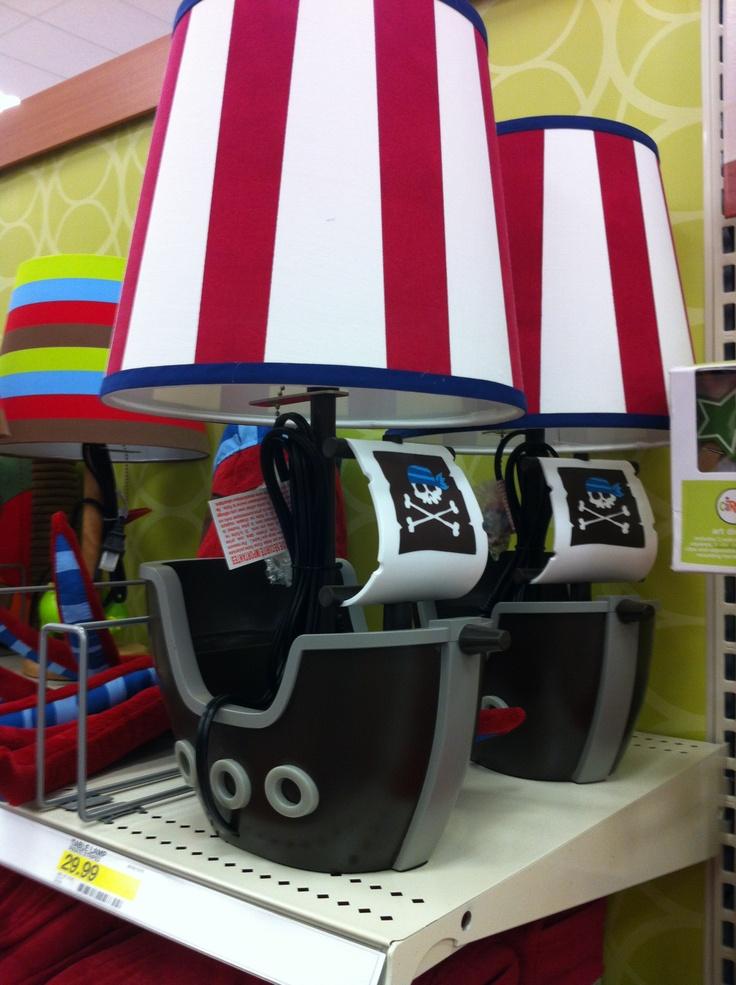 Pirate Ship Lamp Target Playroom Ideas Baby Boy