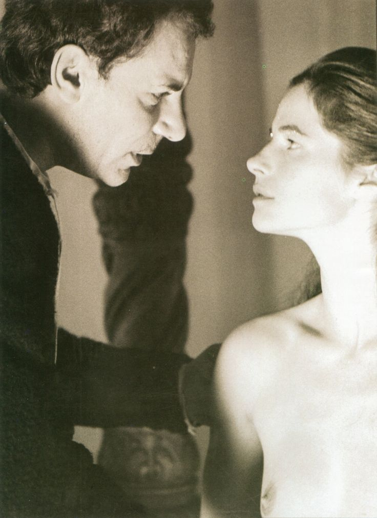 Gian Maria Volonte and Charlotte Rampling