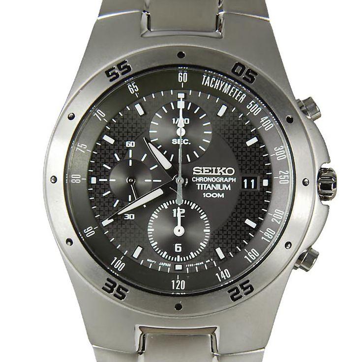 Chronograph-Divers.com - SND419P1 SND419 Seiko Titanium 100m Mens Watch, S$195.76 (http://www.chronograph-divers.com/snd419p1-seiko-titanium-chronograph)