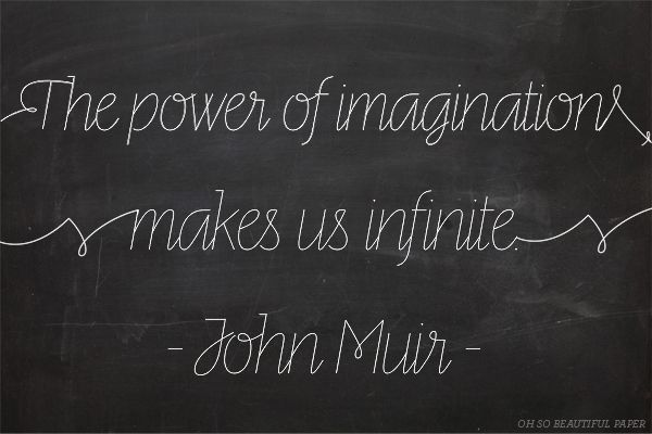 Well Said Type | Line via Oh So Beautiful Paper: http://ohsobeautifulpaper.com/2014/02/well-said-type-51/ | Quote: John Muir