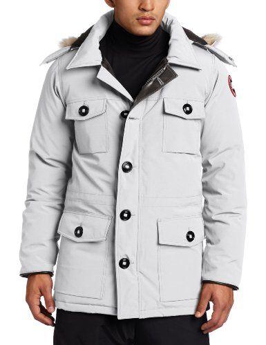 Silver Canada Goose Jacket