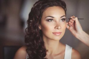 Our day spa also does beauty services ... like bridal make up!