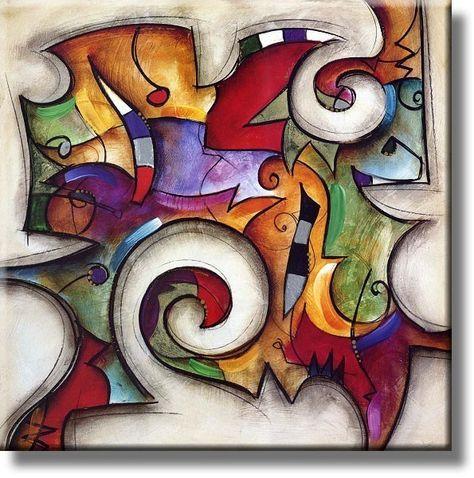 Cuadros | Reproducciones y Laminas de alta calidad - Cuadros Abstractos II