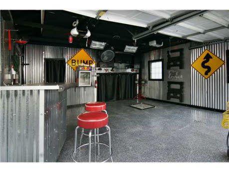 great garage space! He'd love it!