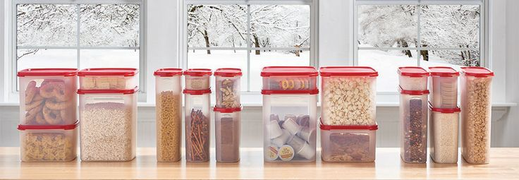Modular Mates® containers. Make the most of shelf space. Stacking shapes and sizes help you store more with organization.