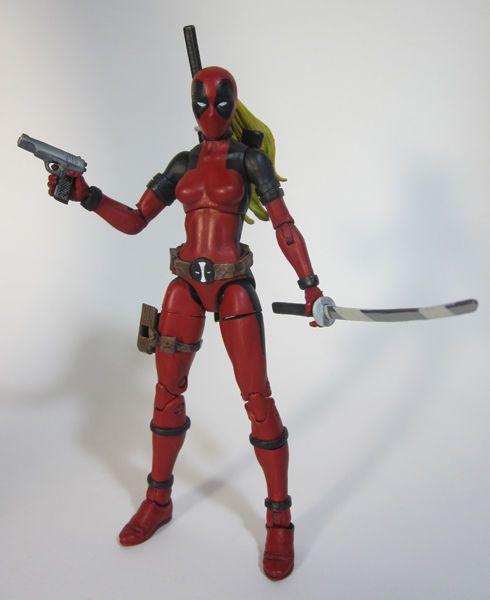 Lady Deadpool Wanda Wilson (Marvel Universe) Custom Action Figure