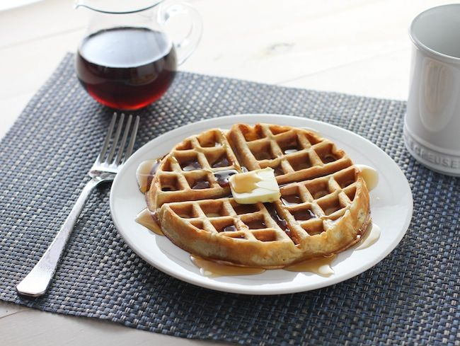 Overnight Yeast Waffles - FoodBabbles.com