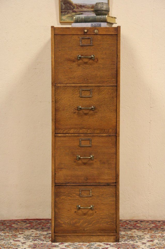 US $895.00 in Antiques, Furniture, Cabinets & Cupboards - 12 Best Antique FILE CABINETS Images On Pinterest Closets, Fitted
