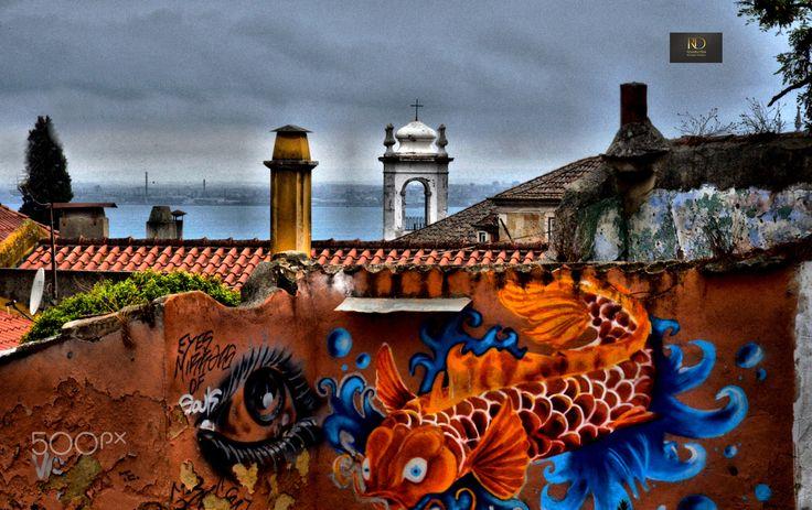 L'oeil de Lisbonne por Remy Photographe Donnadieu